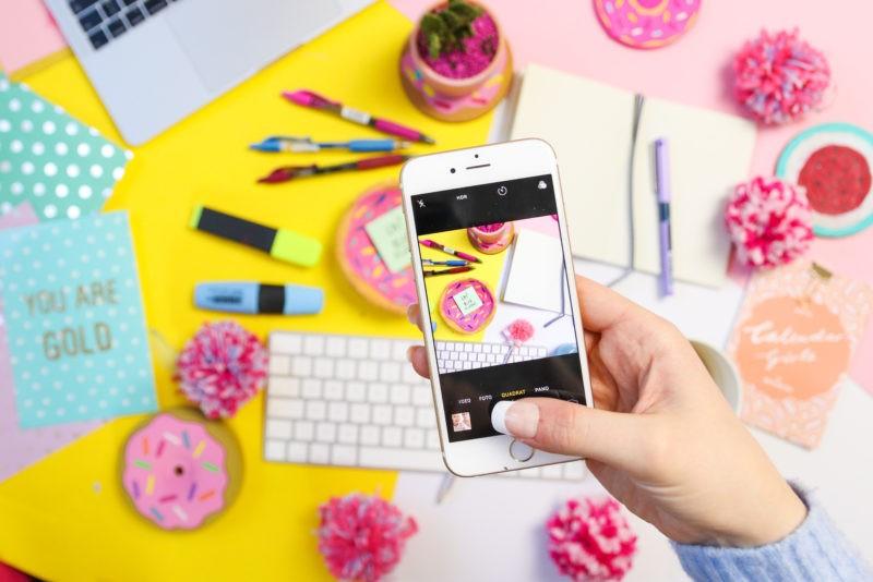 So erstellst du geniale Instagram Fotos und Flatlays
