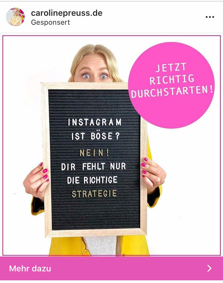 Instagram Werbeanzeigen Tipps