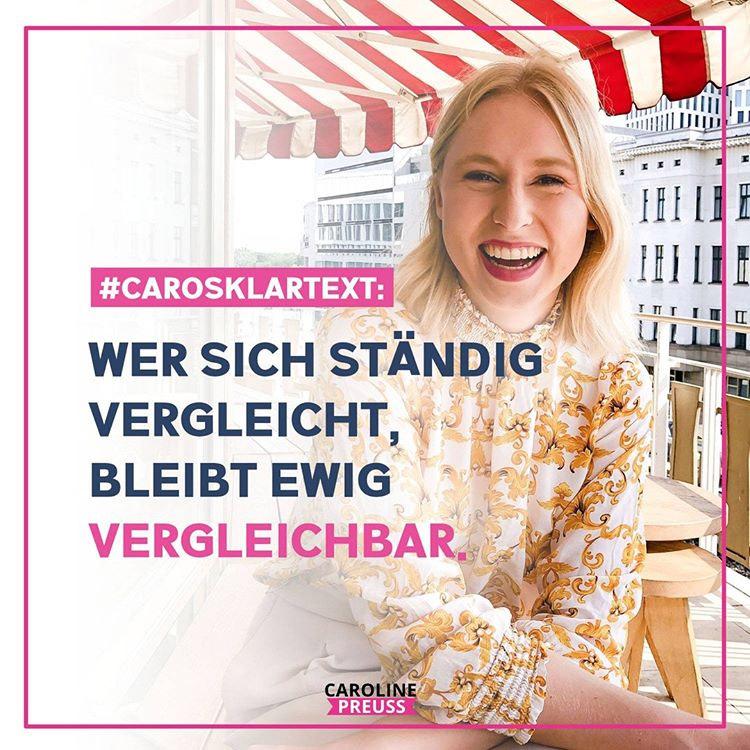 Caroline spricht Klartext