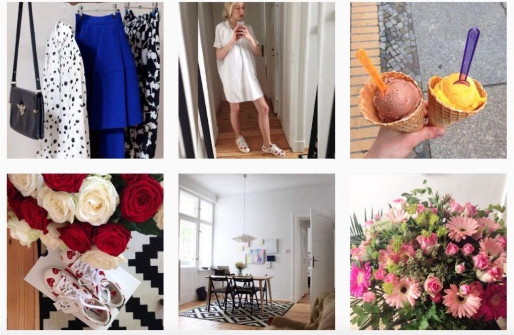 Negativ-Beispiel: So sollte dein Instagram-Feed nicht aussehen!