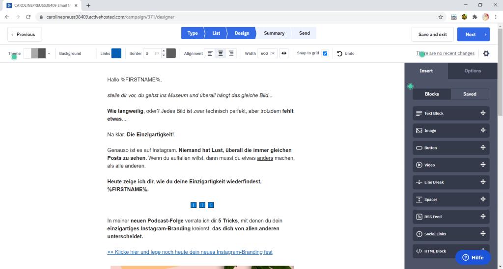 ActiveCampaign ist ein Onlinebusiness Tool für das E-Mail Marketing
